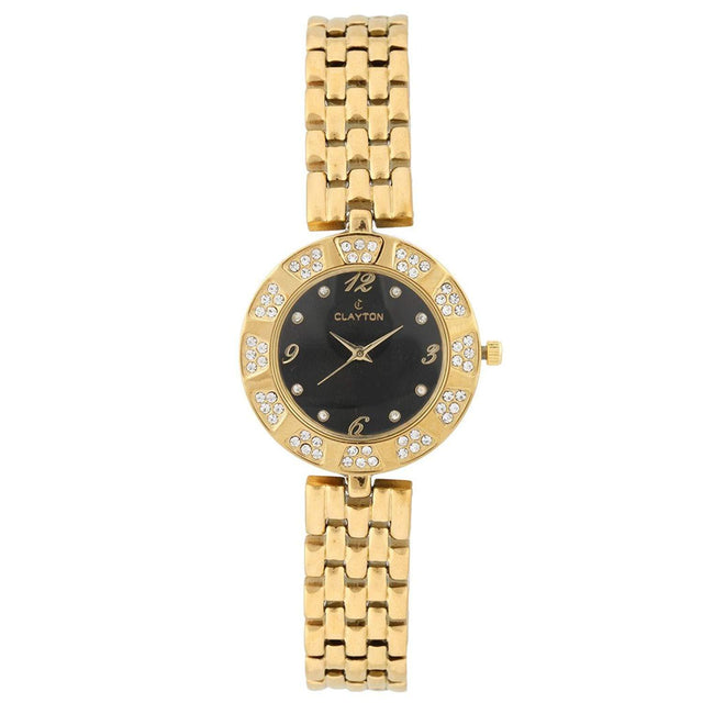 Clayton Circles American Diamond Studded Watch CJW-06