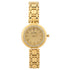 Clayton Golden Circle American Diamond Studded Watch CJW-07