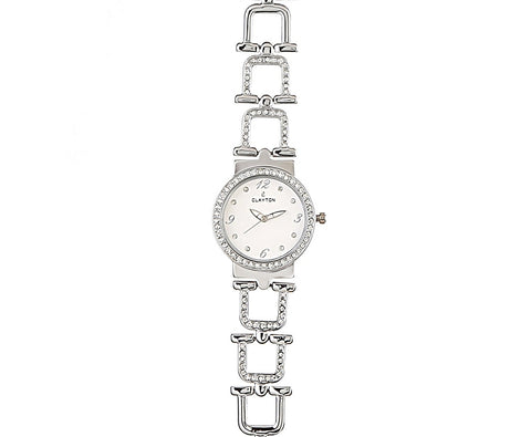 Clayton Analog American Diamond Studded Watch CJW-28