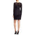 Jessica Simpson Lace Scuba Sheath Dress - Black