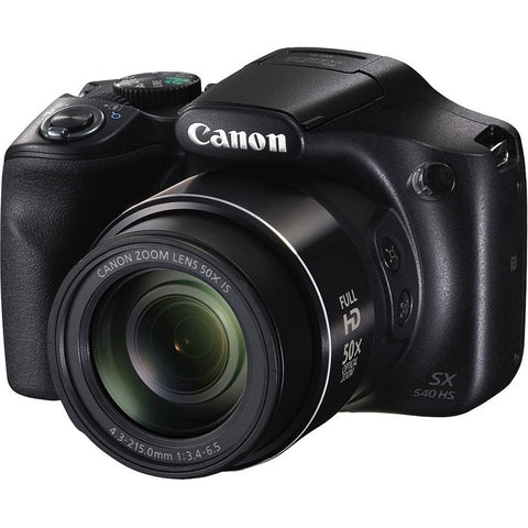 Canon PowerShot SX540 HS Camera - Black