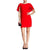 Jessica Simpson Caplette Shift Dress - Red