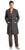 Hanro Of Switzerland Men's Bryant Park Robe - Dark Grey
