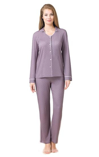 Blackspade Women Sleepwear Long Pj Set - Mink