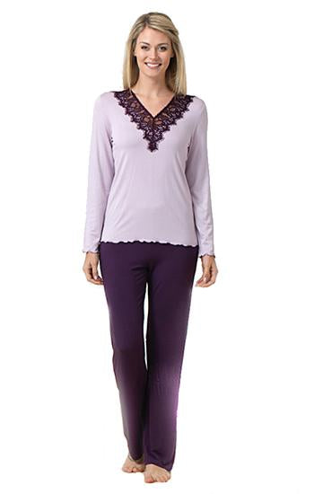 Blackspade Women Sleepwear Long Pj Set - Liliac