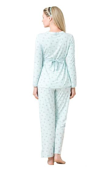 Blackspade Women Maternity Long Pj Set