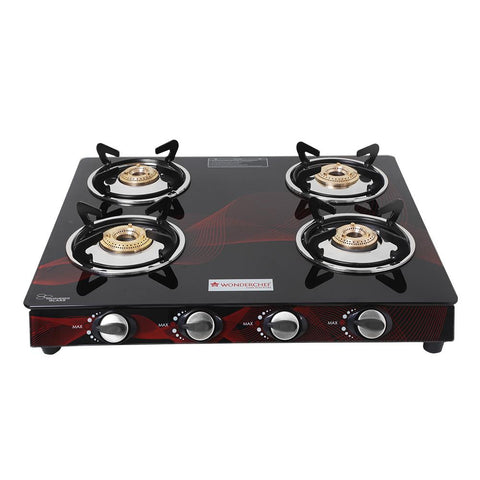 Wonderchef  Zing 4 Burner Glass Cooktop