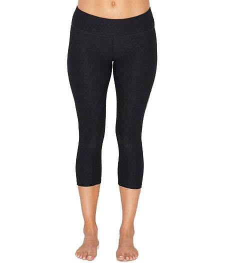 Beyond Yoga Quilted Capri