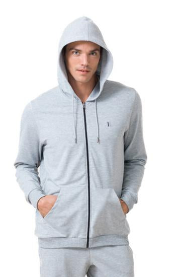 Blackspade Men Essential Hoody - Light Grey