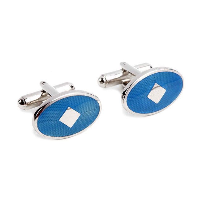 Blue Cufflinks IIC CUFLN 001