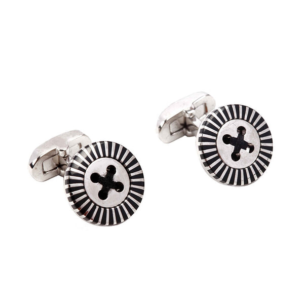 Exclusive Black Cufflinks IIC CUFLN 0024