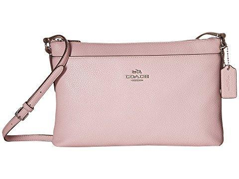 COACH Polished Pebble Journal Crossbody