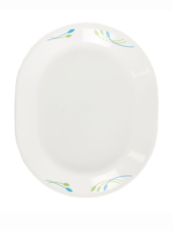Corelle India Impressions Rainbow 1Pc Oval Serving Platter