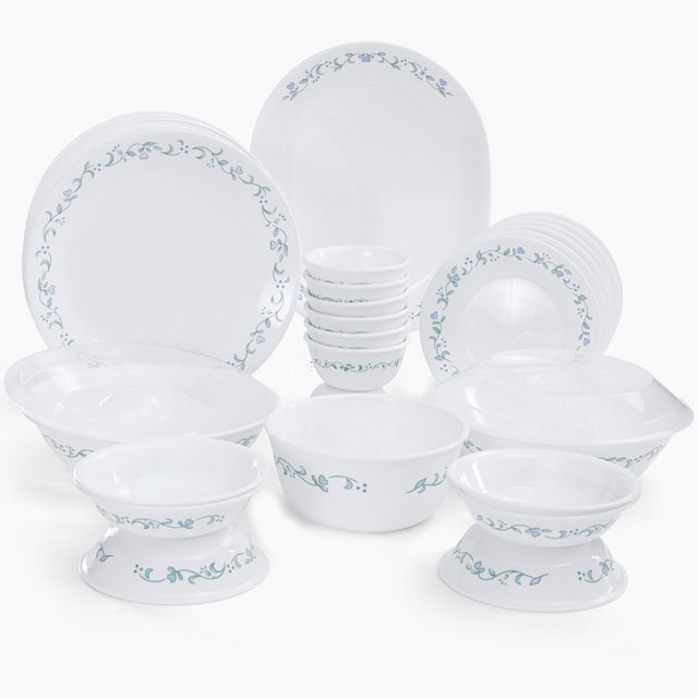 Corelle Livingware Country Cottage 30 Pieces Dinner Set 8903813205216