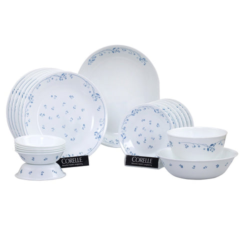 Corelle Livingware Provincial 21 Pieces Dinner Set Blue 8903813205285