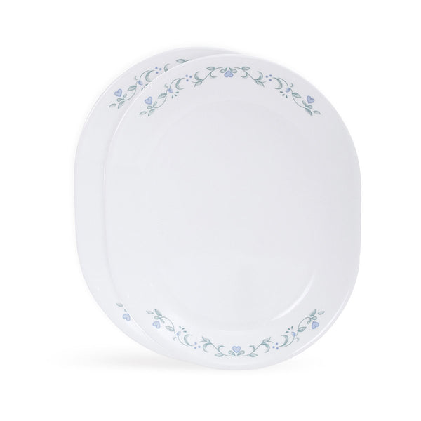 Corelle Livingware Country Cottage 2 Pieces Oval Serving Platter Set 8903813207081