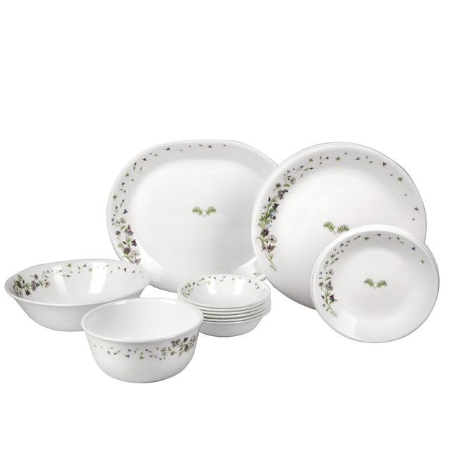 Corelle Gold Dancing Floral 21 Pcs Dinner Set 8903813213846
