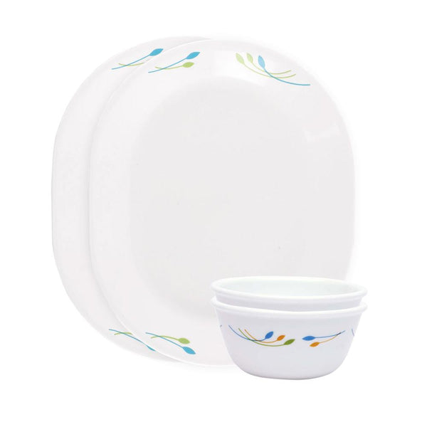 Corelle India Impressions Rainbow 4 Pcs Dosa Set - 8903813251763