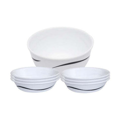 Corelle India Impressions Twists&Turns 7Pcs Pudding Set 8903813252128