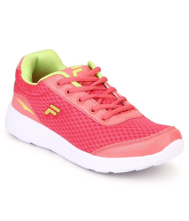 FILA Women's Fuchsia & Lime Lara III Sports Shoe - 11004036