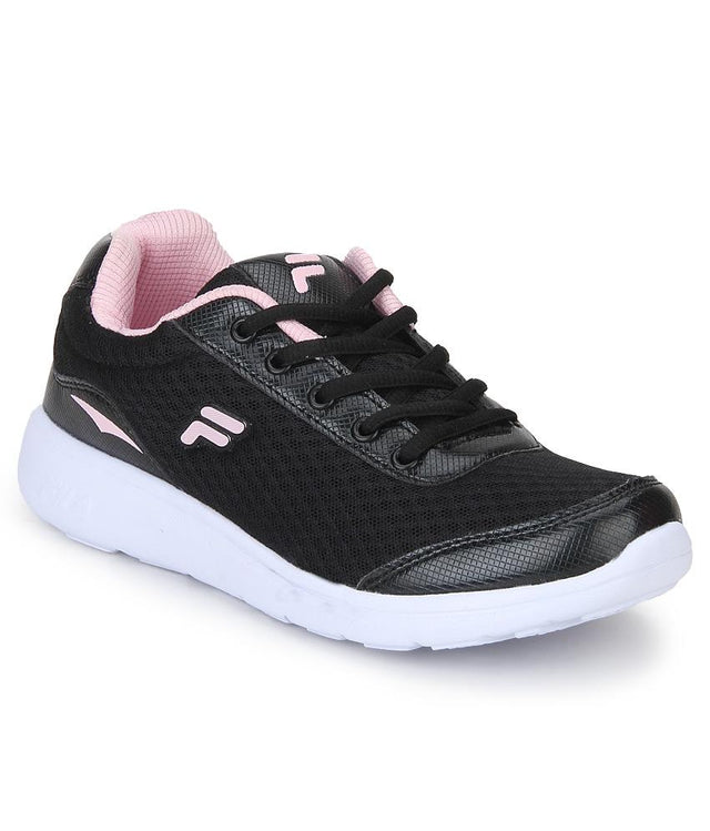 FILA Women's Black & Light Pink Lara III Sports Shoe - 11004037