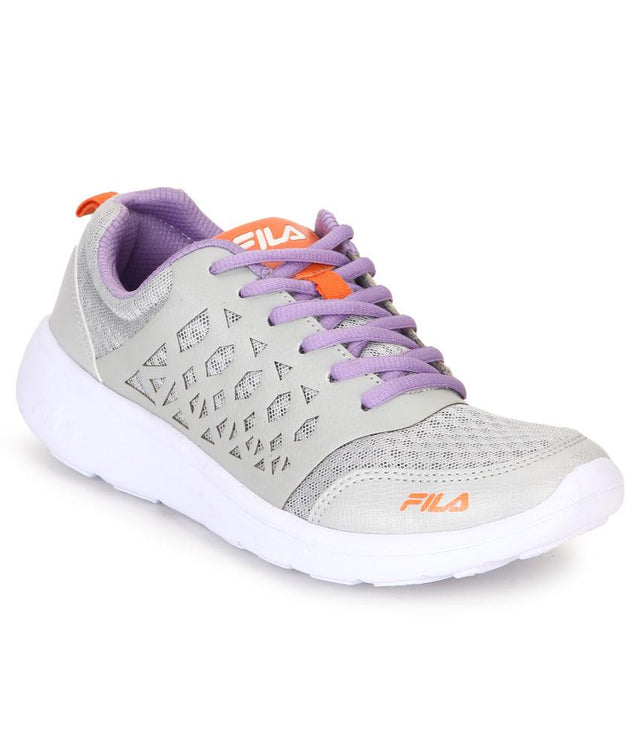 FILA Women's Light Grey Alexa Lite Sports Shoe - 11004039