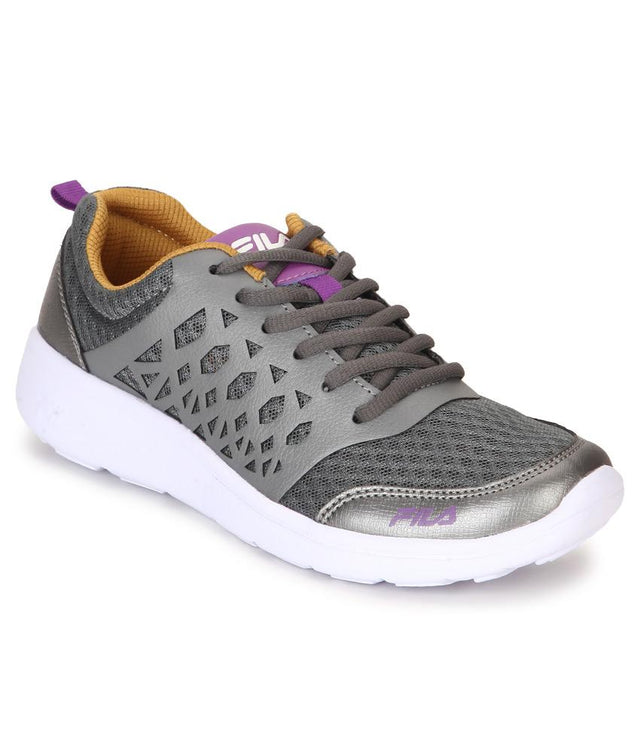 FILA Women's Dark Grey & Gold Alexa Lite Lifestyle Shoe - 11004040