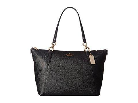COACH Crossgrain Ava Tote - Black