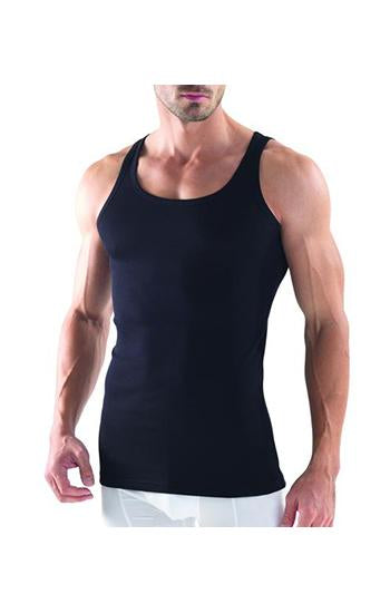 Blackspade Men Intimate Wear Sports Singlet Vest - Black