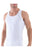 Blackspade Men Sport Singlet - White (XL)