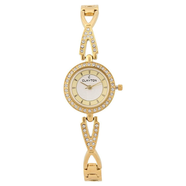 Clayton Analog American Diamond Studded Watch CJW-83