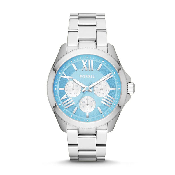 Fossil Cecile Women's Blue Dial Stainless Steel Watch