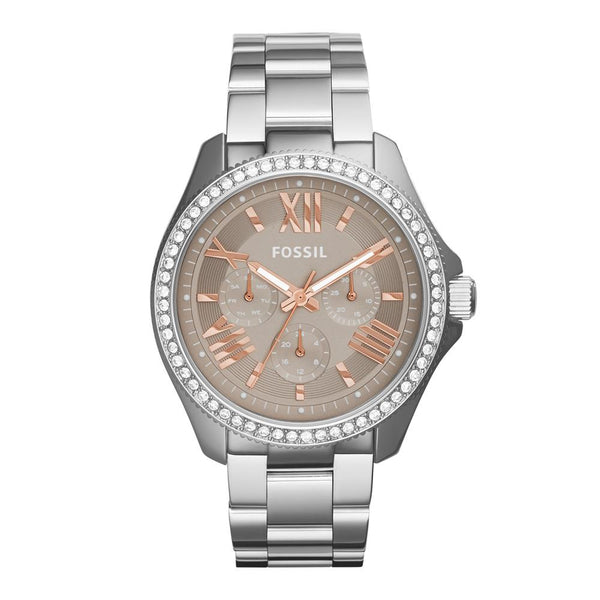 Fossil Women's Silver Analog Fashion Watch
