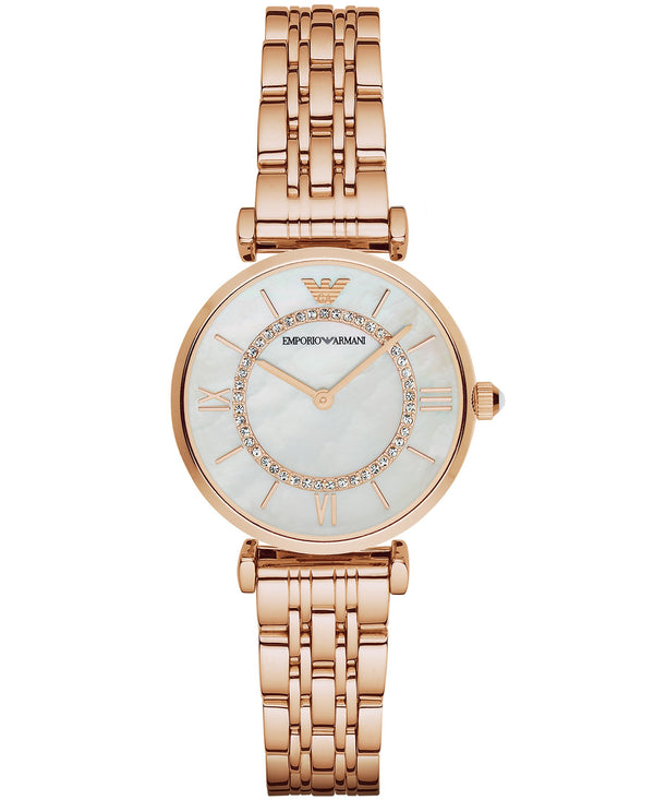 Emporio Armani Women's Rose Gold Analog Watch