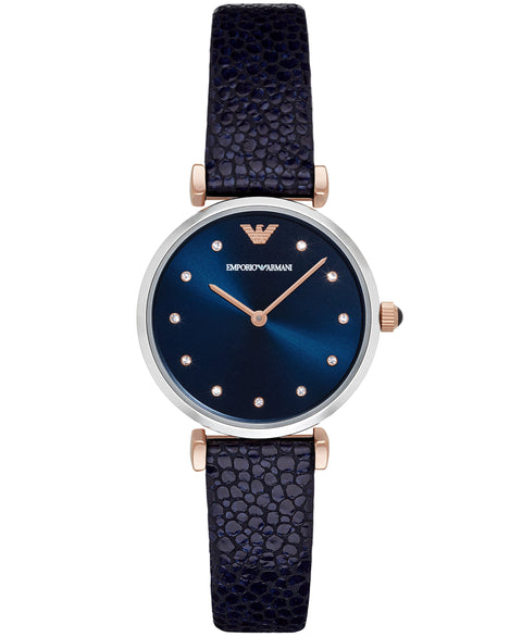 Emporio Armani Women's Blue Analog Watch