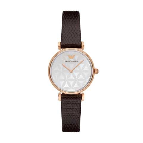 Emporio Armani Women's Brown Analog Watch