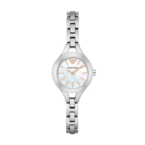 Emporio Armani Women's Silver Analog Watch