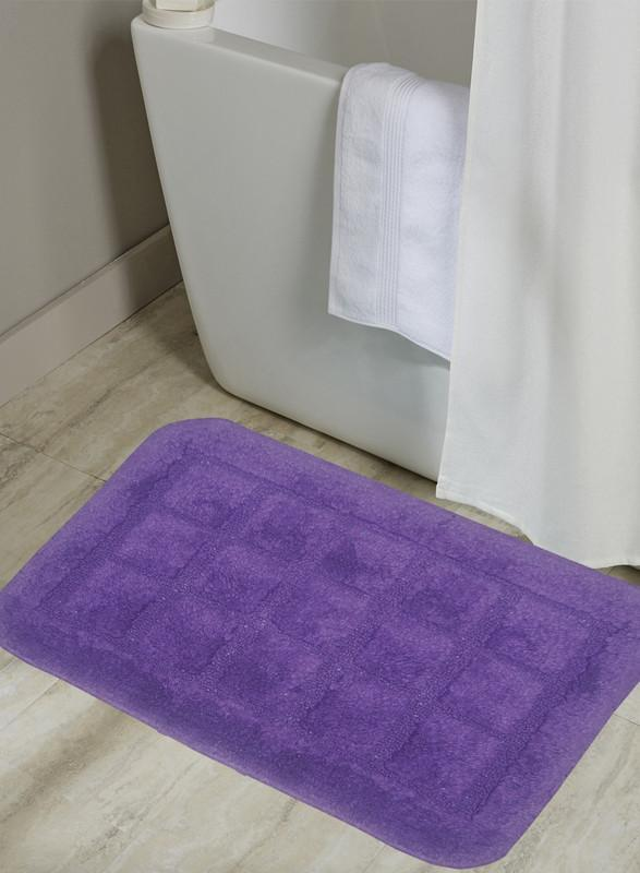 CLASSIC BATH MAT 100% Cotton with Anti Skid, Rubber Backing, Max absorbance & Super soft (BM492A)