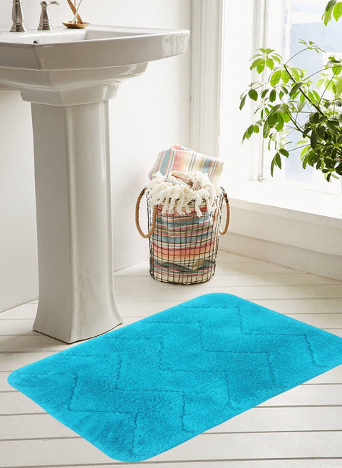 CLASSIC BATH MAT 100% Cotton with Anti Skid, Rubber Backing, Max absorbance & Super soft (BM564)