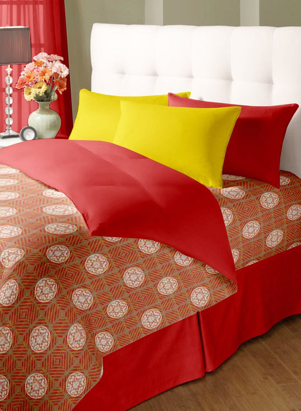 Double Bed Comforter with Silken Filling (COMF207)