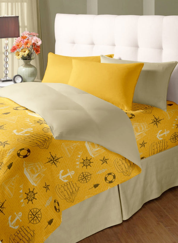 Double Bed Comforter with Silken Filling (COMF214)