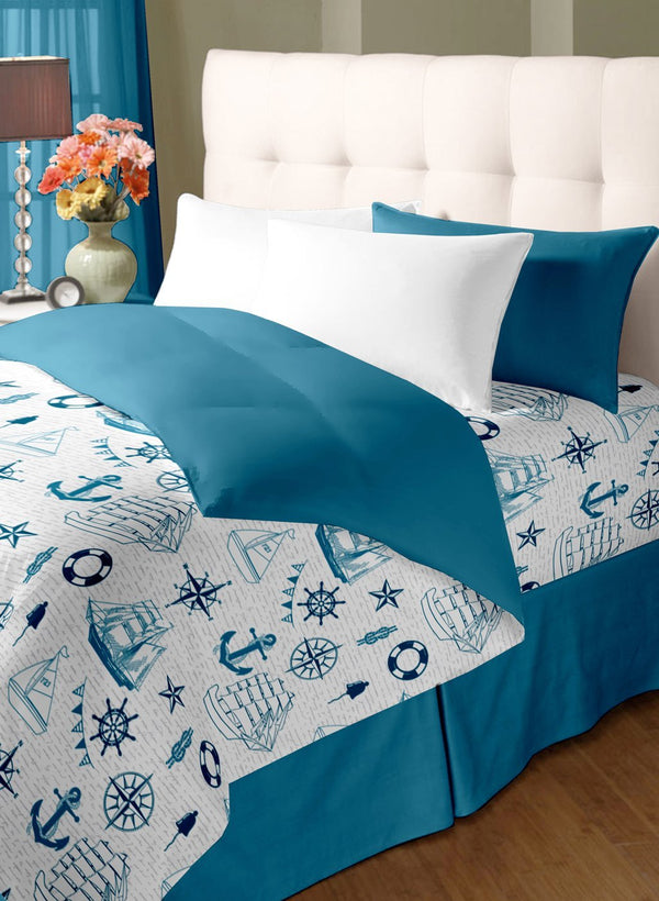 Double Bed Comforter with Double bedsheet with two pillow covers (COMF231)