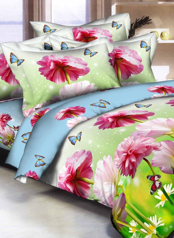 Double Bed Comforter with Silken Filling (COMF339)