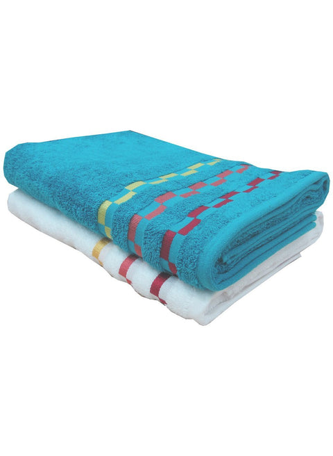 2 Piece Bath Towel (100% Cotton) (C_Bt122Z_Bt123Z)