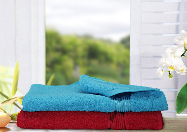 2 Piece Bath Towel (100% Cotton) (C_Bt133_Bt134)