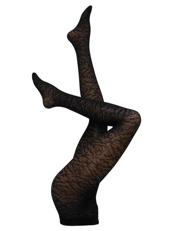 Cette Nashville Pantyhose - Black (Medium)