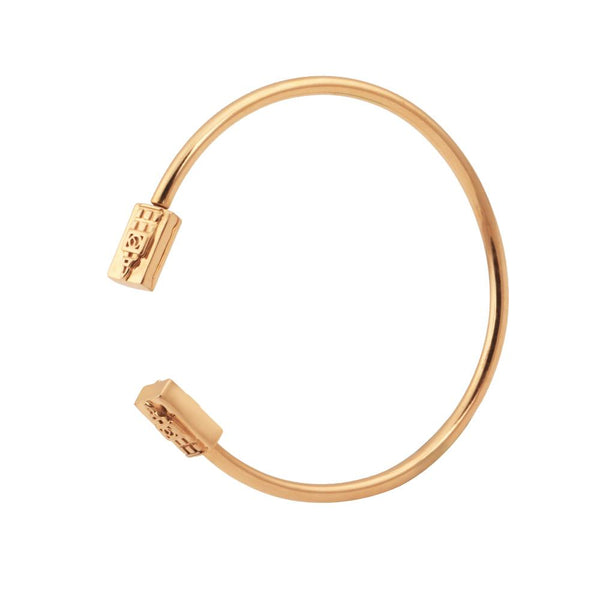 CHARMLET 01 Sterling Bracelet - Gold Plated