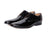 Eloy Black Derby Shoes- Premium Leather Handcrafted Shoes