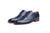 Gonza Electric Blue Oxfords- Premium Leather Handcrafted Shoes