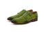 Julio Lemon Green Strap Monks- Premium Leather Handcrafted Shoes